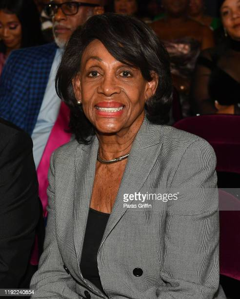 Congresswoman Maxine Waters attends 2019 Urban One Honors at MGM National Harbor on December 05, 2019 in Oxon Hill, Maryland.