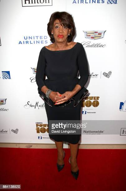Congresswoman Maxine Waters attends Ebony Magazine's Ebony's Power 100 Gala at The Beverly Hilton Hotel on December 1 2017 in Beverly Hills California