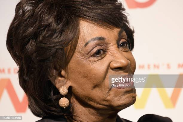 S Congresswoman Maxine Waters attends the Women's Media Center 2018 Women's Media Awards at Capitale on November 1 2018 in New York City