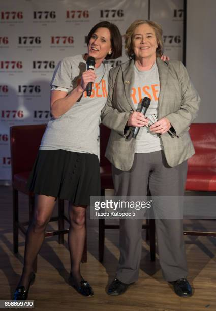 Congresswomen Mimi Walters and Congresswomen Zoe Lofgren attends Rise and Funny Or Die's PSA premiere hosted by Tatiana Maslany on March 22 2017 in...