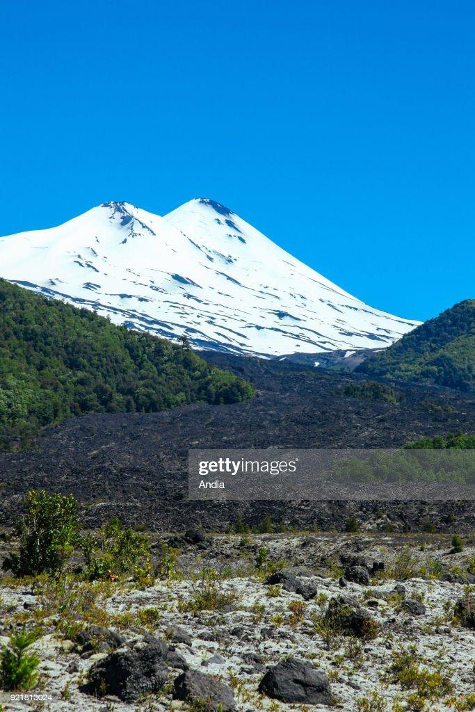 the Llaima Volcano.