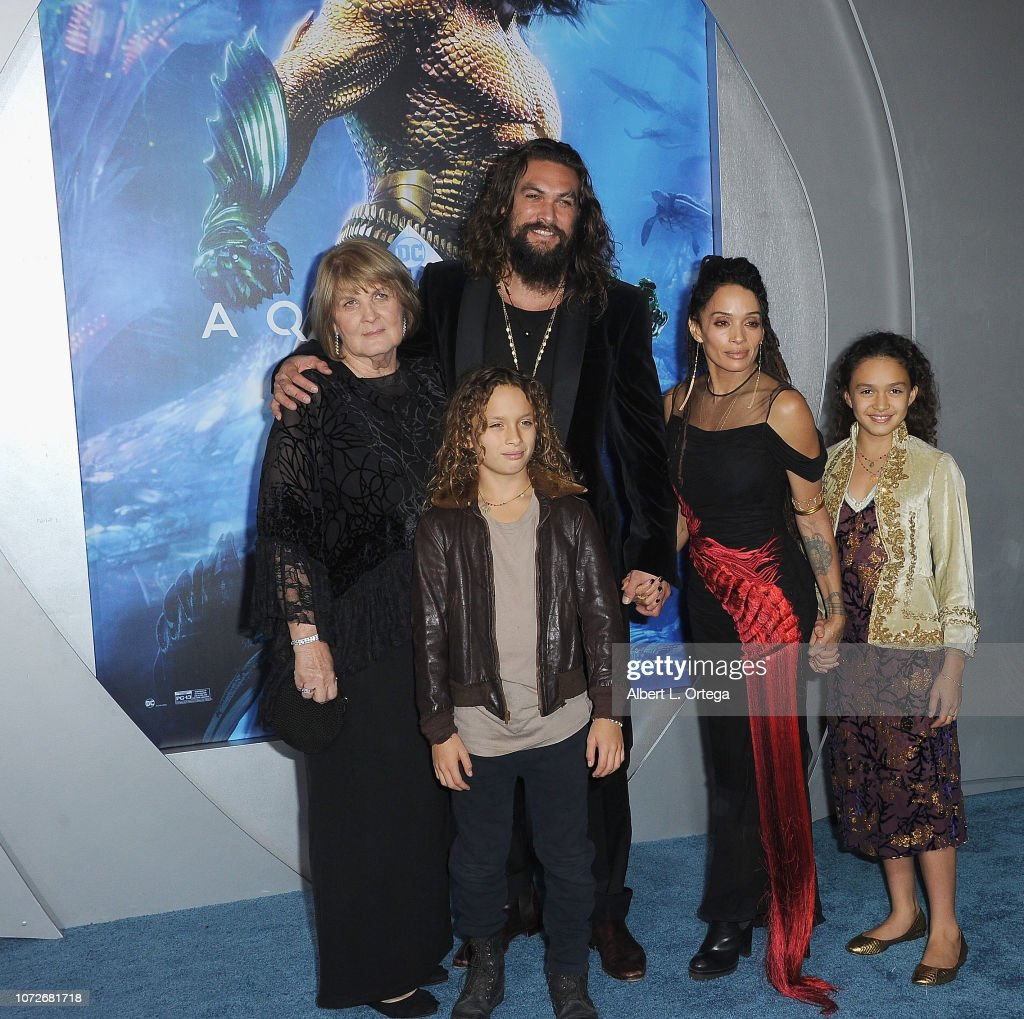 "Premiere Of Warner Bros. Pictures' ""Aquaman"" - Arrivals : Foto jornalística"