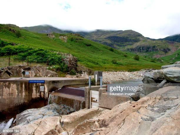 Coniston Hydro Electric Scheme Coppermines Valley Coniston Water The Lake District Cumbria UK