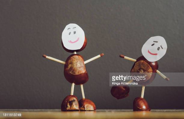 conker people - craft stock pictures, royalty-free photos & images