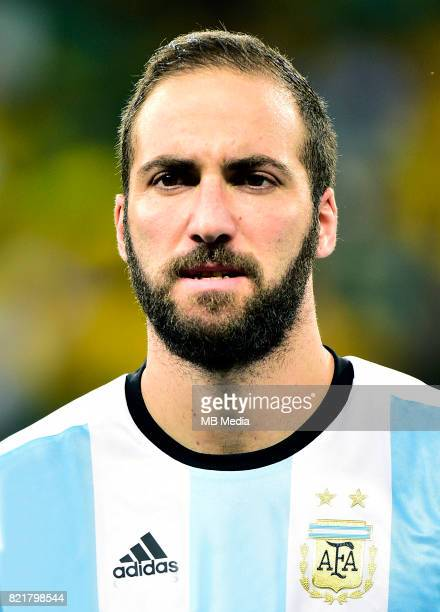 Conmebol World Cup Fifa Russia 2018 Qualifier / 'nArgentina National Team Preview Set 'nGonzalo Gerardo Higuain