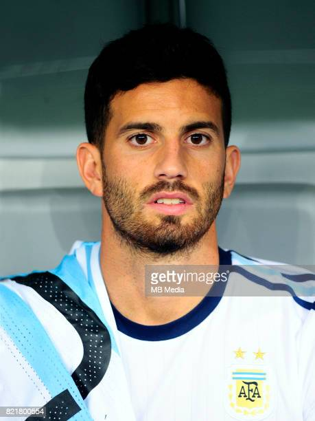 Conmebol World Cup Fifa Russia 2018 Qualifier / 'nArgentina National Team Preview Set 'nMateo Pablo Musacchio