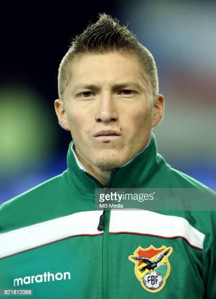 Conmebol World Cup Fifa Russia 2018 Qualifier / 'nBolivia National Team Preview Set 'nAlejandro Saul Chumacero