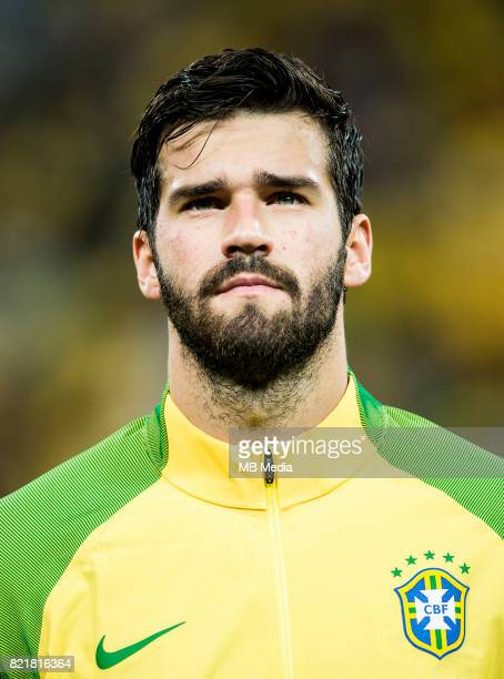 Conmebol World Cup Fifa Russia 2018 Qualifier / nBrazil National Team Preview Set nAlisson Ramses Becker