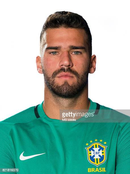 Conmebol World Cup Fifa Russia 2018 Qualifier / 'nBrazil National Team Preview Set 'nAlisson Ramses Becker