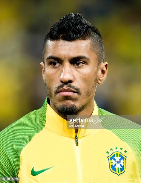 Conmebol World Cup Fifa Russia 2018 Qualifier / 'nBrazil National Team Preview Set 'nJose Paulo Bezerra Maciel Junior Paulinho