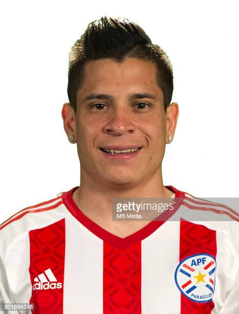 """Conmebol - World Cup Fifa Russia 2018 Qualifier / """"nParaguay National Team - Preview Set - """"nJuan Manuel Iturbe"""