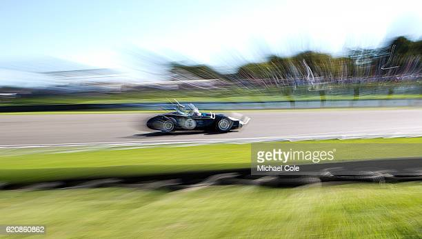 Connaught Btype entered and driven by Helmut Gassmann in the Richmond Trophy race at Goodwood on September 11 2016 in Chichester England