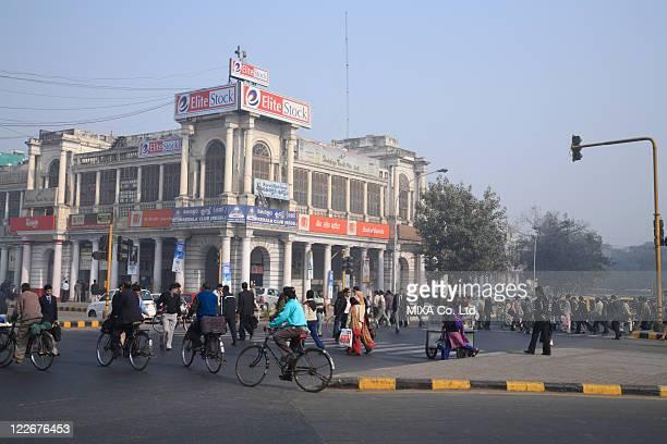connaught place, delhi, india - ニューデリー ストックフォトと画像