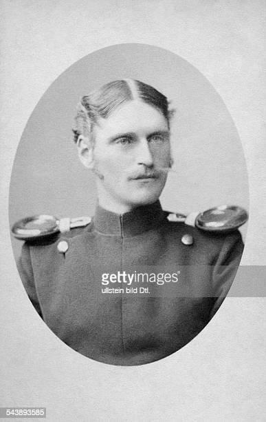 Connaught Prince Arthur of Great Britain*01051850 Portrait 1889 Photographer Friedrich Mueller Vintage property of ullstein bild