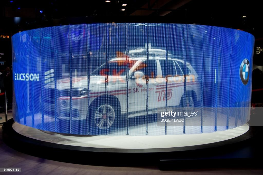 Connected car produced by Ericsson, SK telecom and BMW companies