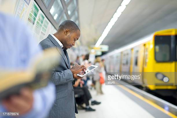 connected in the subway - subway station stock pictures, royalty-free photos & images