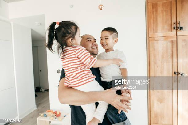 connected parenting - fathers day stock pictures, royalty-free photos & images