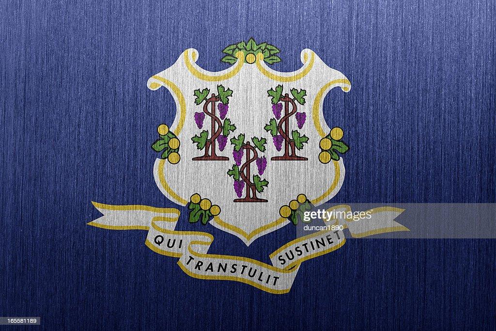 Connecticut Flag : Stock Photo