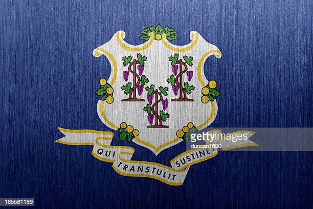 connecticut flag - connecticut stock pictures, royalty-free photos & images