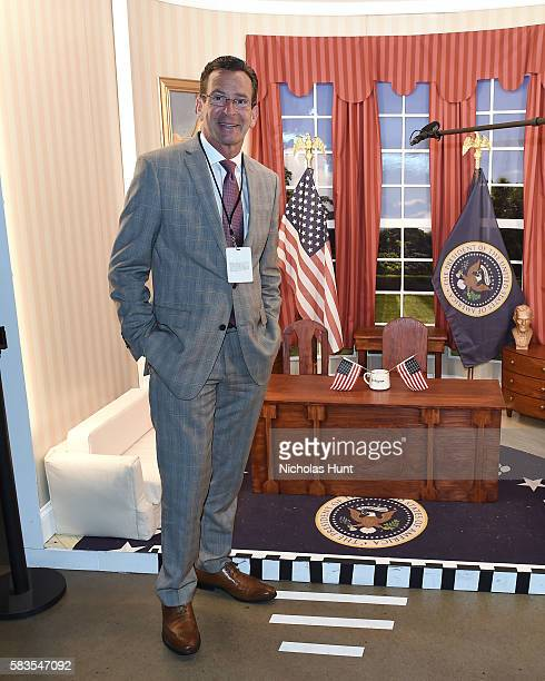 Connecticut Governor Dannel Malloy at the Glamour And Facebook Host Conversation With Cindi Leive Chelsea Clinton Lena Dunham America Ferrera At The...