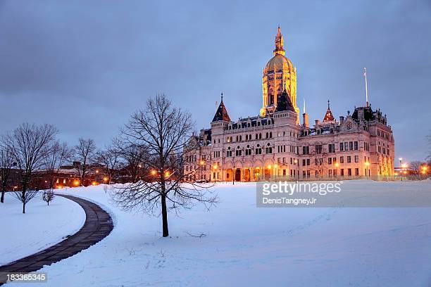 コネチカット州議会議事堂 - コネチカット州ハートフォード ストックフォトと画像