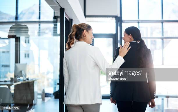 Connecting with a colleague using a simple friendly gesture