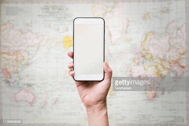 connection conception image. - mobile - fotografias e filmes do acervo