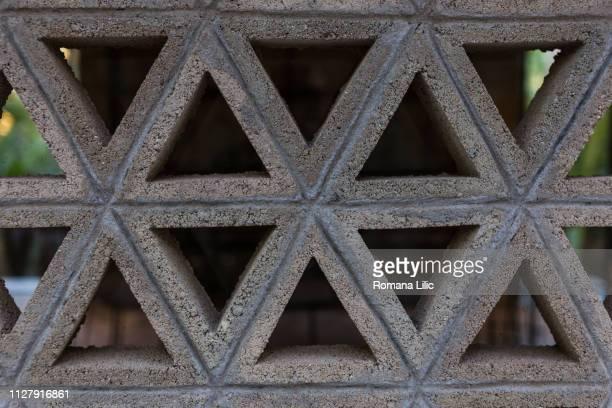 connection metaphor: connected bricks - メキシコ北部 ストックフォトと画像
