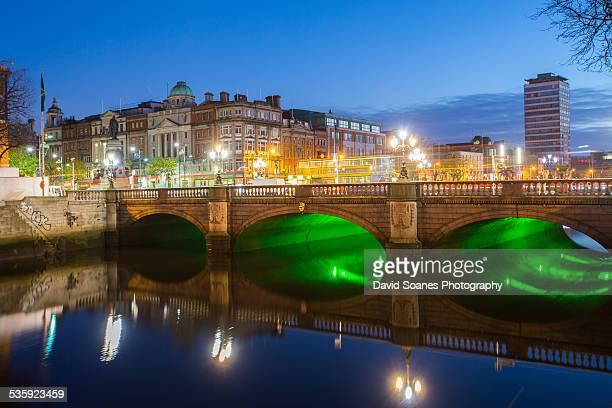O'Connell Bridge at dawn