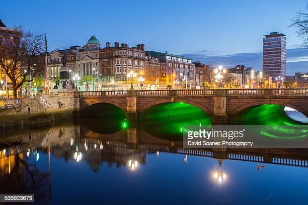 O'Connell Bridge, Dublin City at Dawn