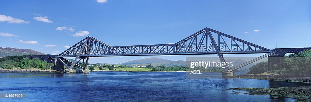 Connell Bridge Over Loch Etive, Strathclyde, Scotland : Stock Photo