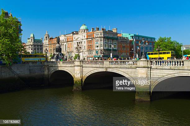 O'Connell Bridge over River Liffey