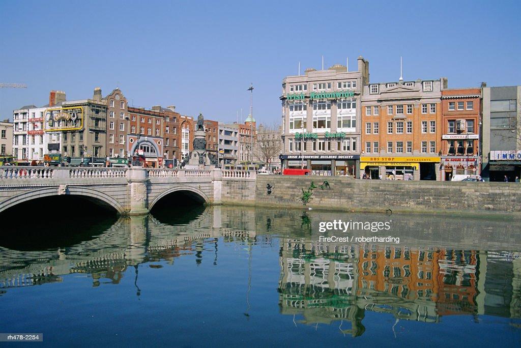 O'Connell Bridge over the River Liffey, Dublin, Ireland : Stockfoto