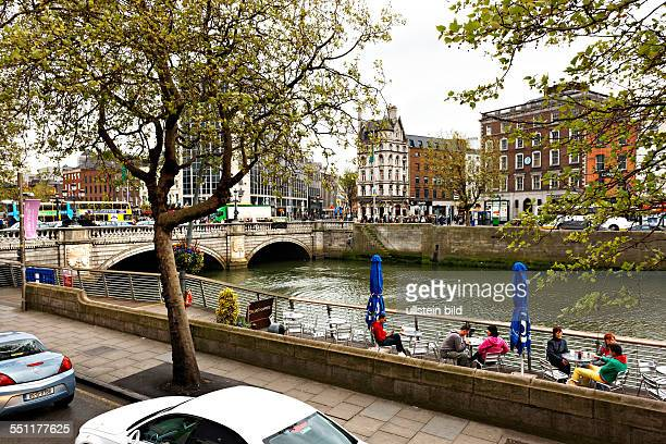 O'Connell Bridge over the River Liffey Dublin Republic of Ireland Europe