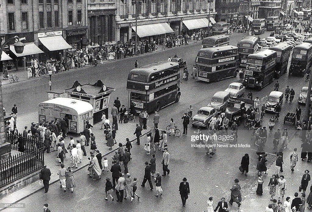 Dublin in the 1960's : Nachrichtenfoto