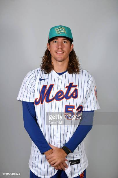 Conner Grey of the Salt Rive Rafters poses for a headshot during the 2021 Arizona Fall League Headshots at Salt River Fields at Talking Stick on...