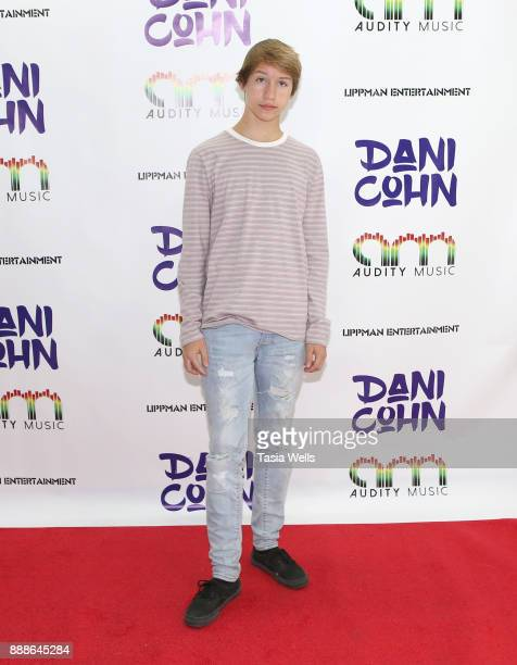 Conner Shane at Dani Cohn's Single Release Party for #FixYourHeart on December 8 2017 in Burbank California
