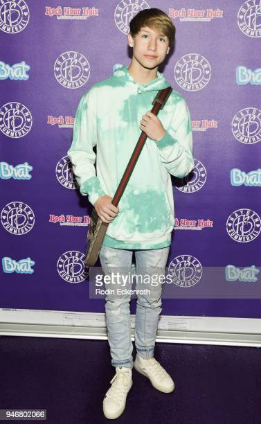 Conner Shane attends Hayden Summerall's 13th Birthday Bash at Bardot on April 15 2018 in Hollywood California