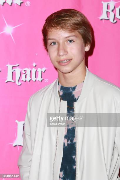 Conner Shane attends Rock Your Hair presents Valentine's Rocks at The Avalon Hotel on February 11 2017 in Los Angeles California