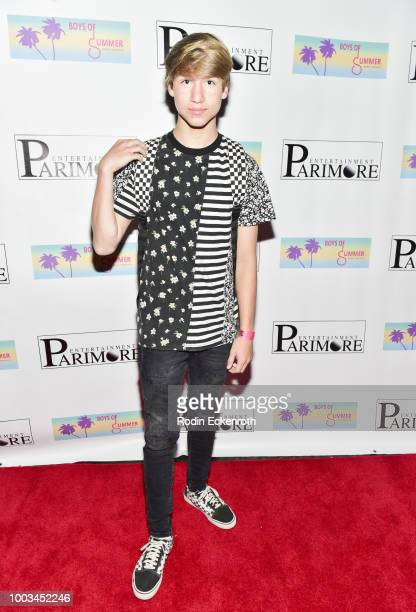 Conner Shane attends the Boys of Summer Tour Kick Off Show at Whisky a Go Go on July 21 2018 in West Hollywood California