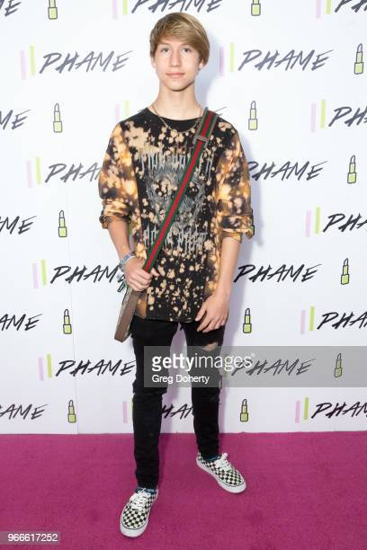 Conner Shane attends the PHAME Expo 2018 on June 2 2018 in Los Angeles California