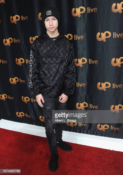 Conner Shane attends UpLive Hosts Party Concert held at Starwest Studios on December 16 2018 in Burbank California