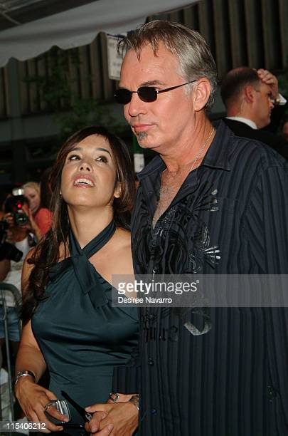 Connie Angland and Billy Bob Thornton during Bad News Bears New York City Premiere Arrivals at Ziegfeld Theatre in New York City New York United...