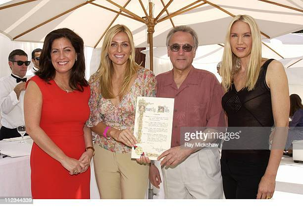 Connie Anne Phillips Associate Publisher of Vogue Jamie Tisch Beverly Hills Vice Mayor Les Bronte and Kelly Lynch