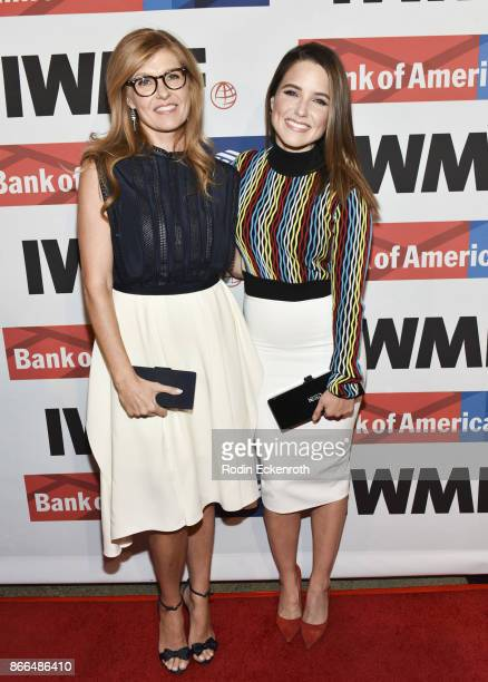 Connie Britton and Sophia Bush attend the International Women's Media Foundation 2017 Courage in Journalism Awards at NeueHouse Hollywood on October...