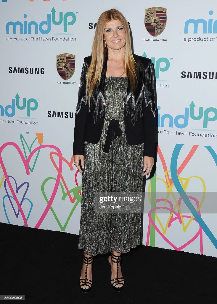 Connie Britton arrives at Goldie's Love In For Kids at Ron Burkle's Green Acres Estate on November 3, 2017 in Beverly Hills, California.