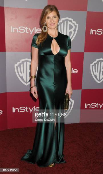 Connie Britton arrives at the 12th Annual Warner Bros. And Instyle Post-Golden Globe Party at the Beverly Hilton Hotel on January 16, 2011 in Beverly...