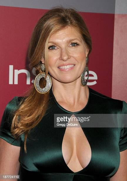 Connie Britton arrives at the 12th Annual Warner Bros and Instyle PostGolden Globe Party at the Beverly Hilton Hotel on January 16 2011 in Beverly...