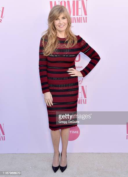 Connie Britton arrives at The Hollywood Reporter's Annual Women in Entertainment Breakfast Gala at Milk Studios on December 11, 2019 in Hollywood,...