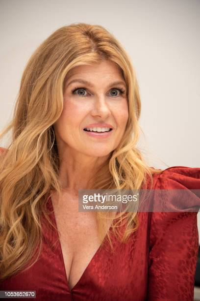 """Connie Britton at the """"Dirty John"""" Press Conference at the Four Seasons Hotel on October 25, 2018 in Beverly Hills, California."""